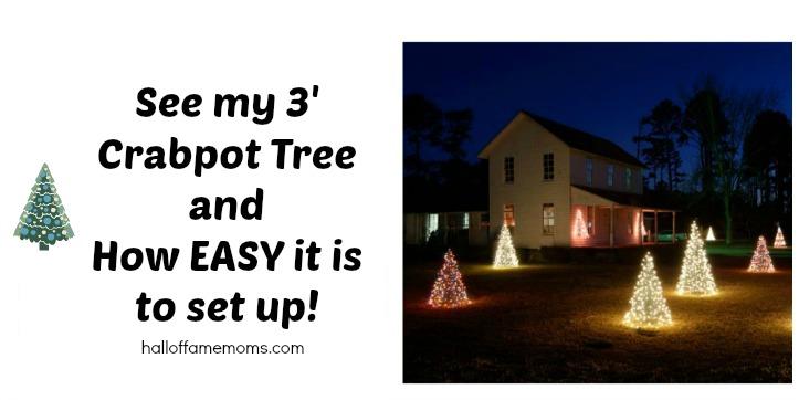 See my Crabpot Christmas Tree