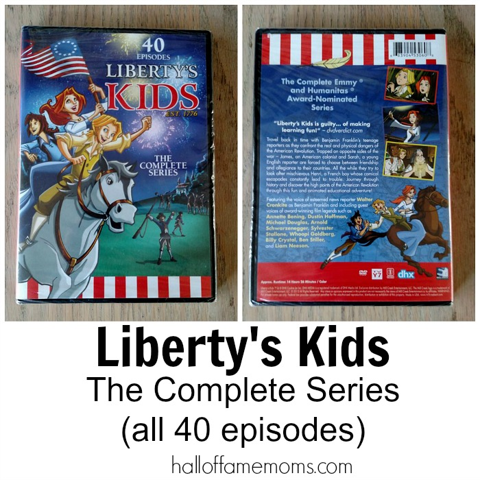 Liberty S Kids The Complete Series  Dvd Set