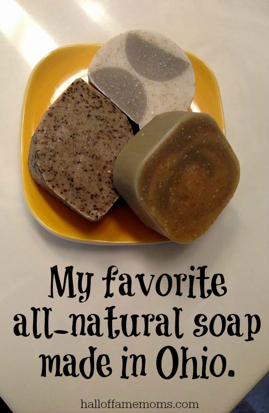 My favorite all-natural soap Made in Ohio!