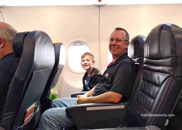 We flew Spirit: cheap non-stop to Florida from CAK – Our first family flight!