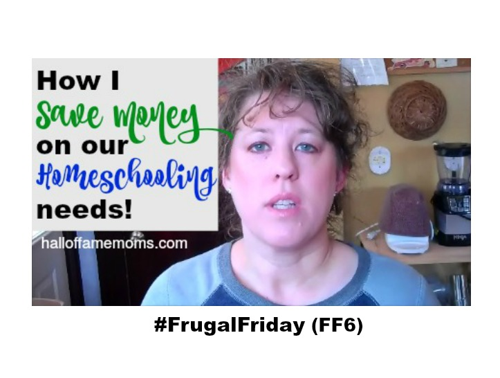 How I Save Money on Homeschooling  – Frugal Friday (FF6)