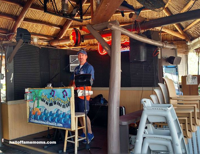 Live music at Snook Inn, Marco Island, FL.