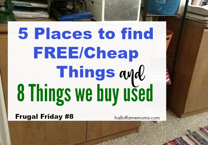 5 Places to find FREE / Cheap Things & 8 Things I buy Used (FF8)