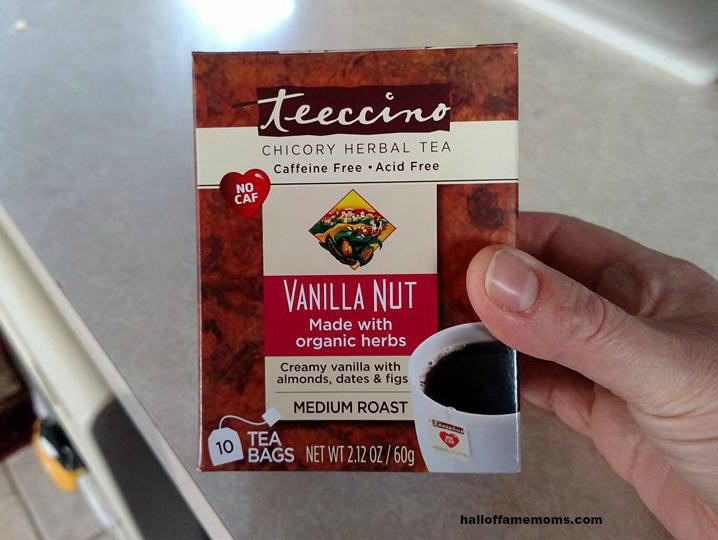"I like this non-coffee but ""like coffee"" tea made from chicory! (affiliate link)"