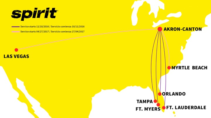 Spirit Airlines added 2 NEW Routes! – & this Giveaway