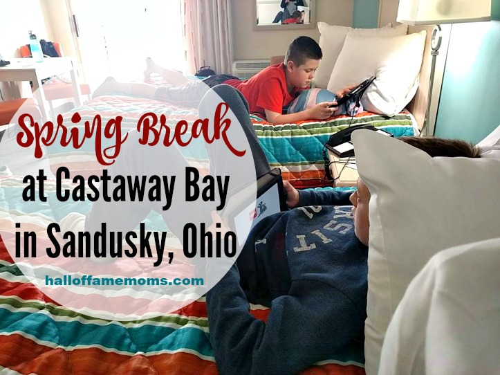 Spring Break fun at Castaway Bay in Sandusky, Ohio (Giveaway, too!)