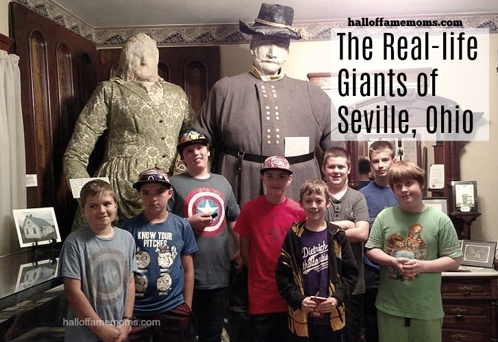 Capt. & Mrs. Bates: Real-life Giants who lived in Ohio