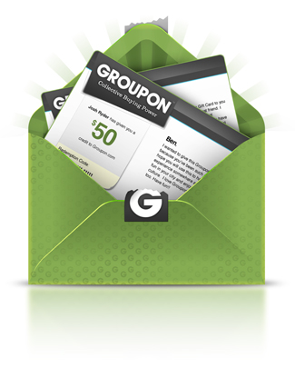 Save money with Groupon!