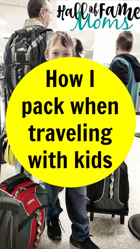 8 Things I pack when Traveling with Kids