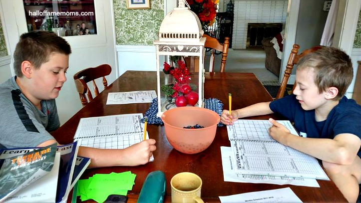 Video: 2017-18 Homeschool Week #1 – Easing into a New Routine