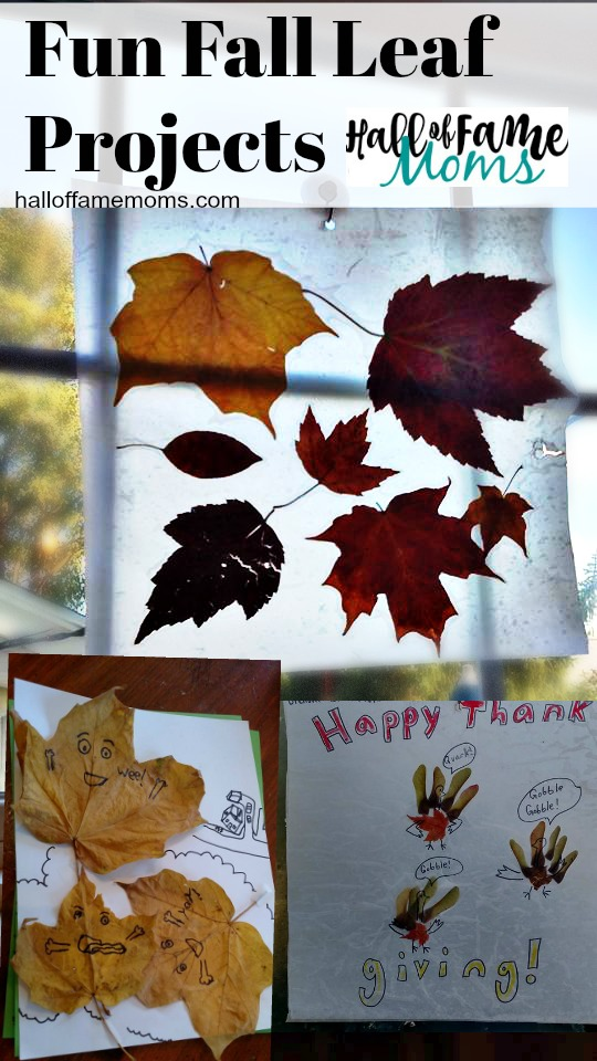 8 Fall Leaf Craft Projects to Make with Your Kids!