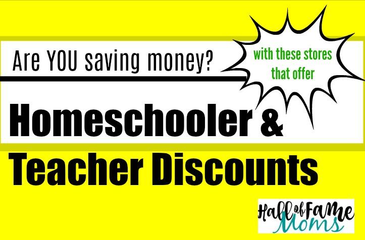 Where to find Teacher & Homeschooler Discounts in Ohio