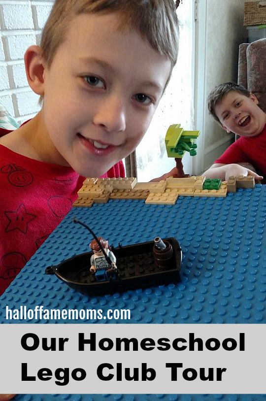 Picture Tour of our Homeschool Lego Club - Lego projects