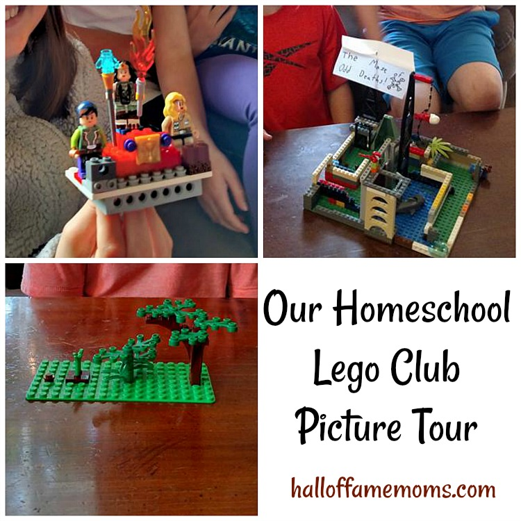 Picture Tour of our Homeschool Lego Club