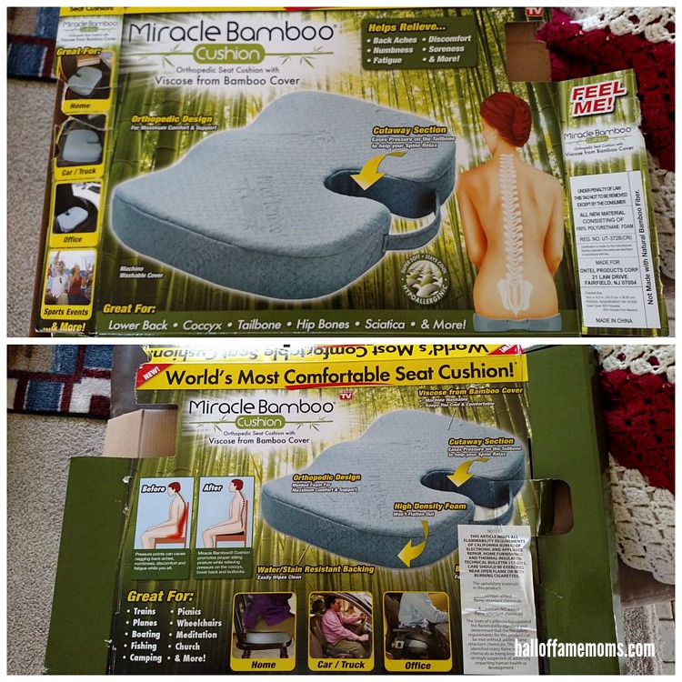 I bought myself the Miracle Bamboo Cushion. Did I like it? Read more...