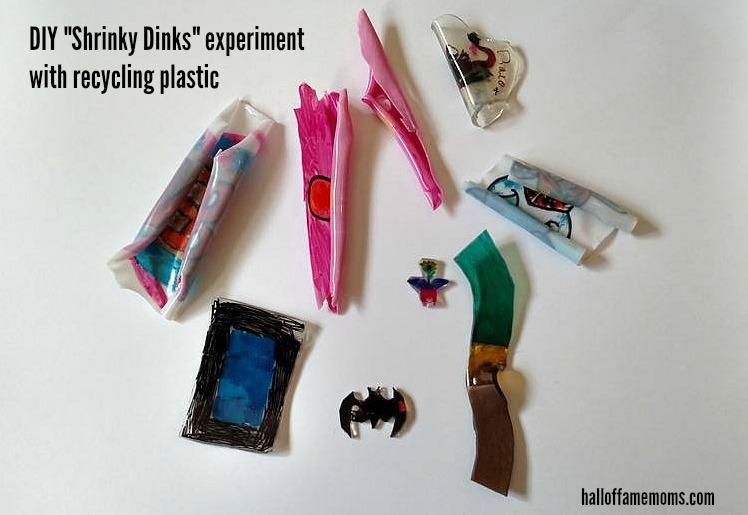 DIY shrinks dink experiment failure