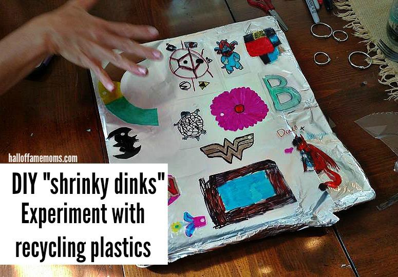 DIY Shrinky Dink experiment