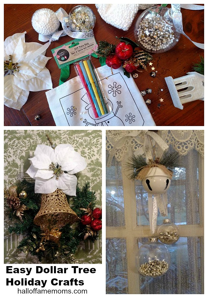 Make these Easy Dollar Tree Christmas Crafts