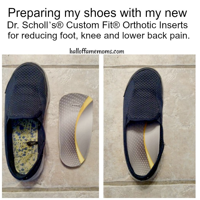 How I'm reducing my chance of foot, knee and lower back pain.
