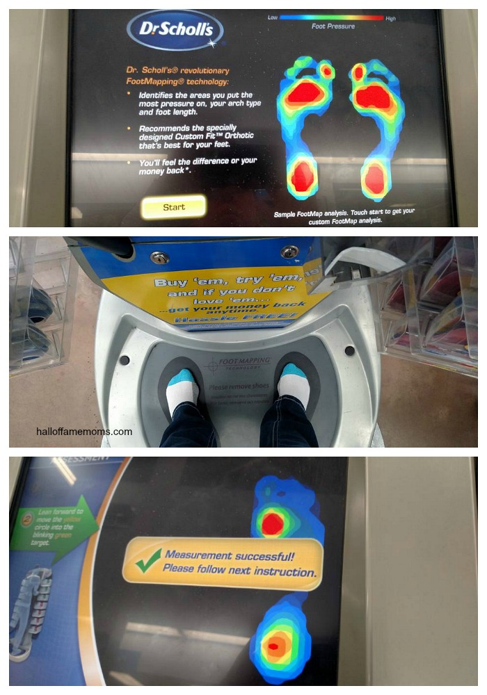 How to use the Dr. Scholl's® Custom Fit® Orthotic Inserts kiosk