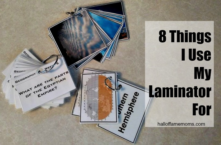 How to Laminate & 8 Things I Laminate at Home