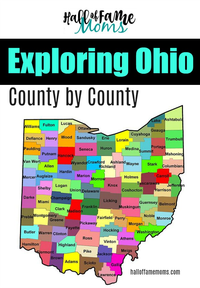Exploring Ohio County by County: 100+ Ways to Learn about Ohio