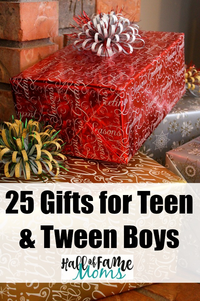 25 Gift Ideas for Tween & Teen Boys - Gift Guide