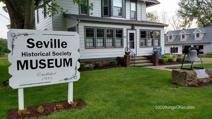See the Giants of Seville, Ohio (and Seville's History)