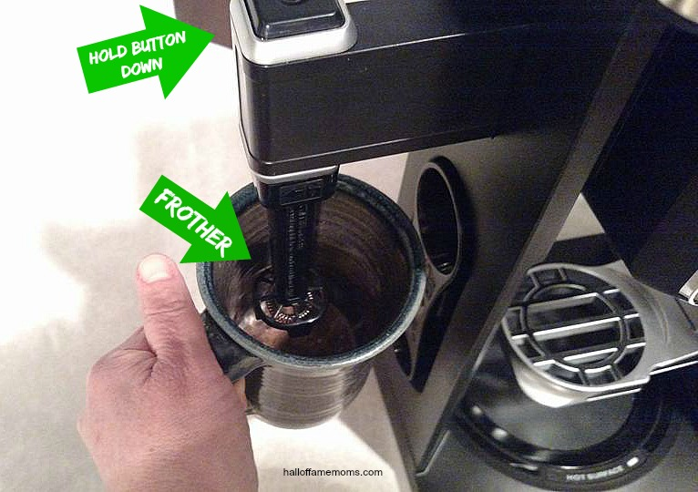 How to use the Frother on the Ninja Coffee Bar System