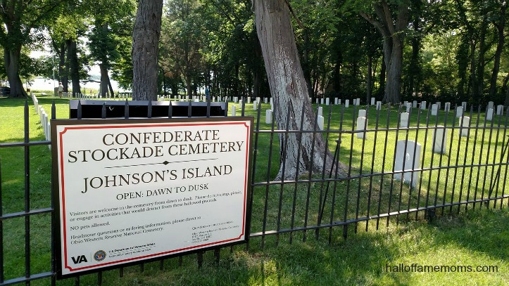 Lake Erie's Johnson's Island Confederate Soldier Cemetery (Pt 8)