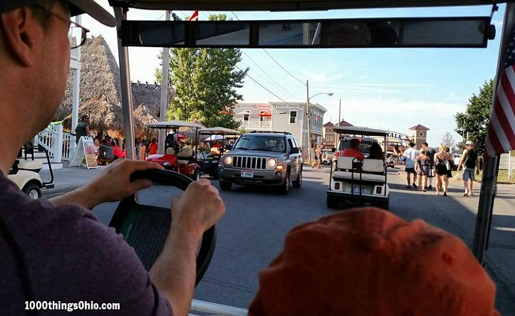 Explore Put-in-Bay with E's Golf Carts