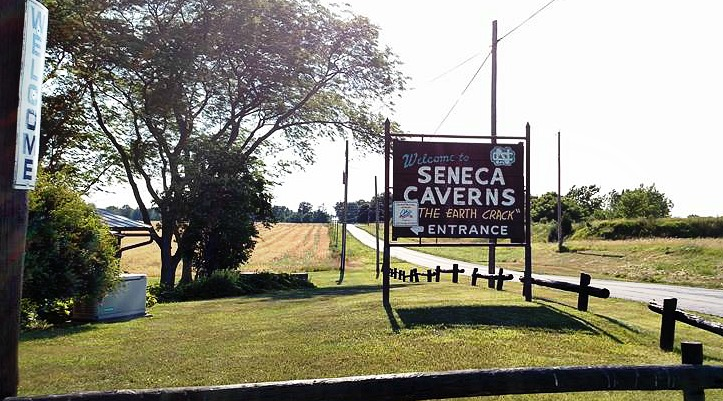 The amazing Seneca Caverns in Bellevue, Ohio   (Pt 10)
