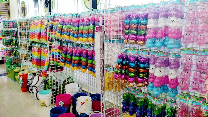Shop with Me for Easter Supplies at Dollar Tree – video too!
