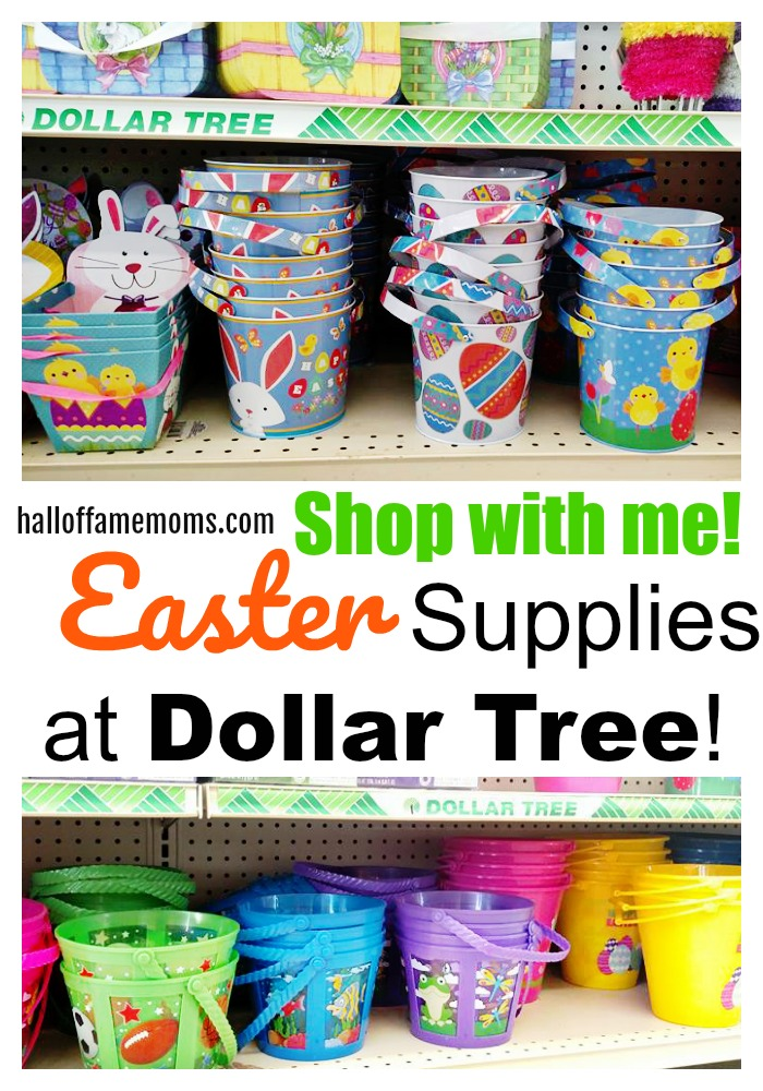 Shop with me for Easter Supplies at Dollar Tree!