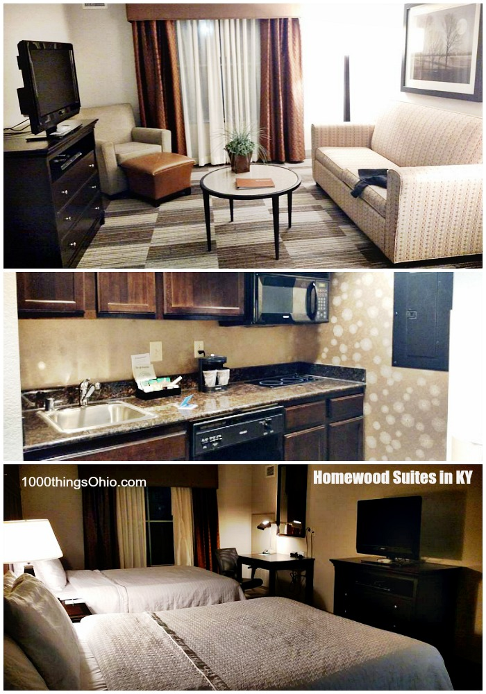 Pictures of our Homewood Suite in Kentucky