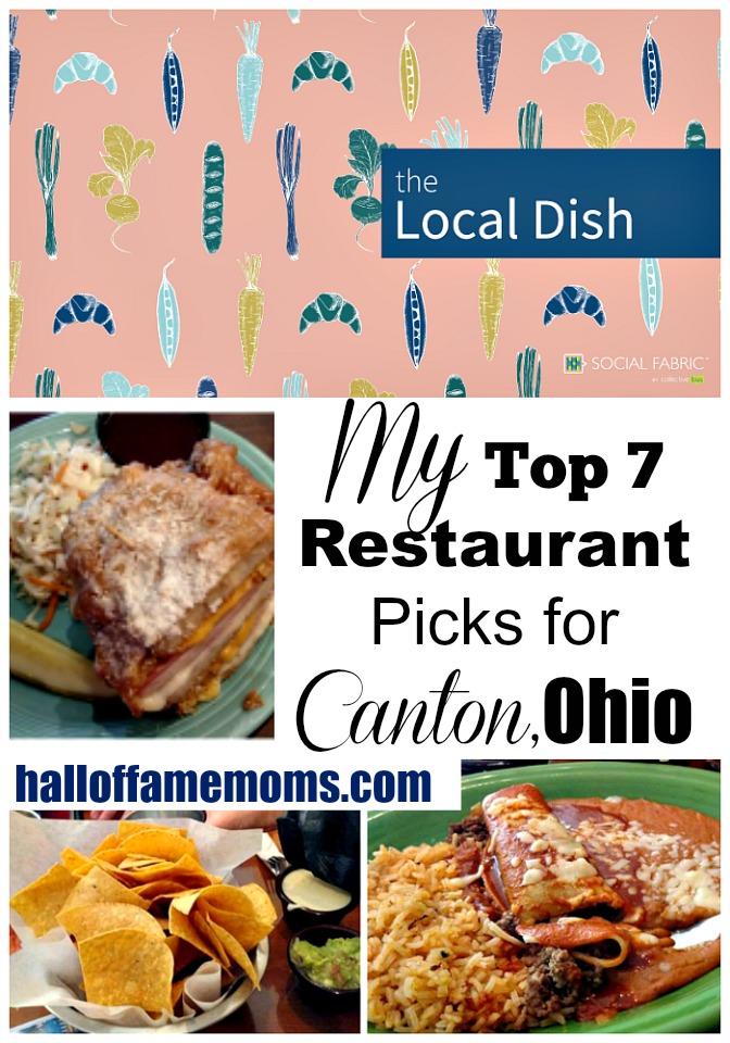 My Top 7 Restaurant Picks for Canton, Ohio