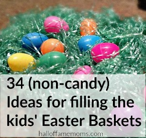 34 Non-candy Easter Basket Fillers