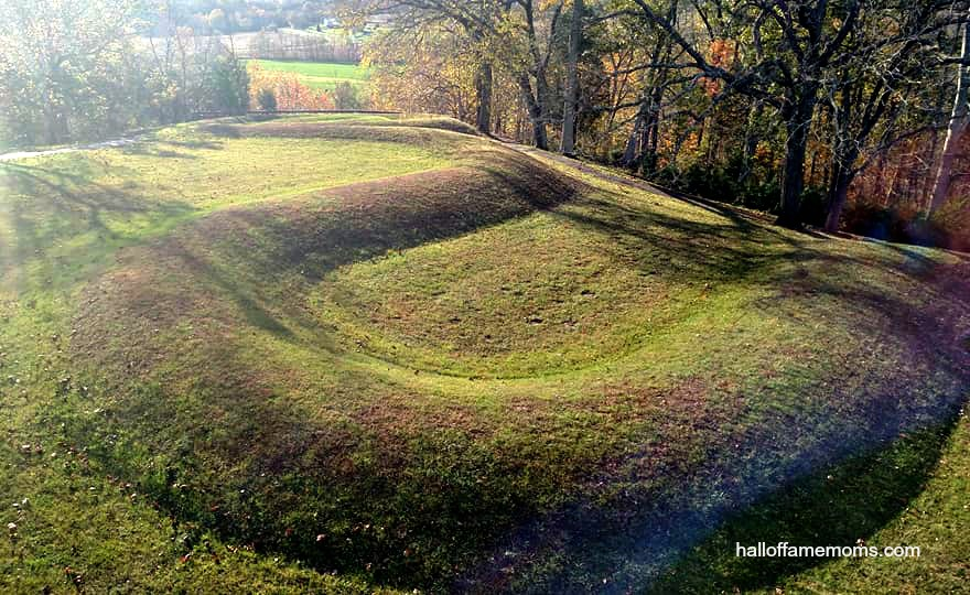Visiting Serpent Mound in Peebles, Ohio