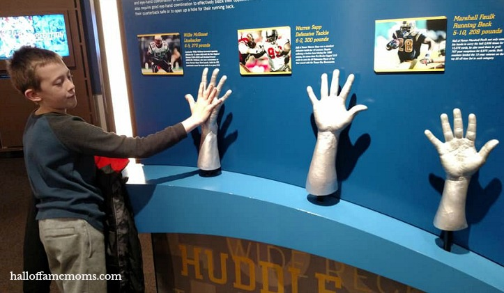 Taking the Family to the Pro Football Hall of Fame