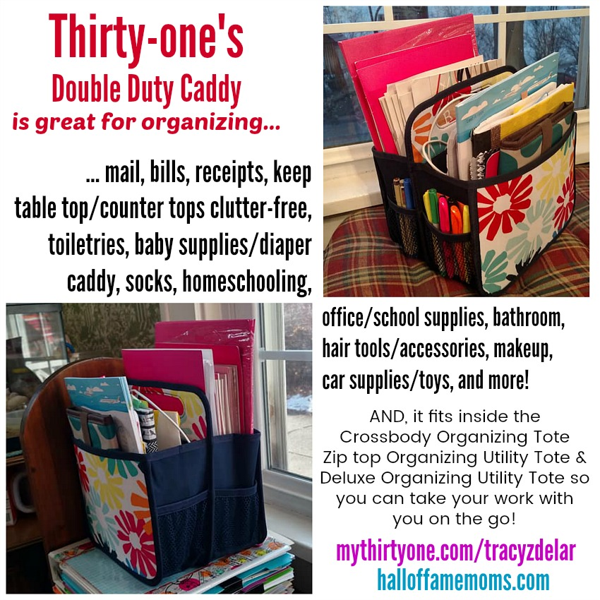 How I use the Double Duty Caddy from Thirty-one