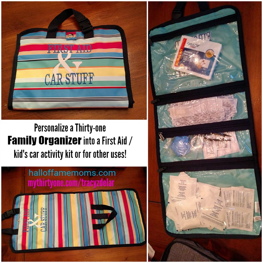 How I use the Fold Up Family Organizer from Thirty-one