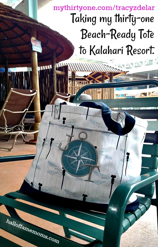 My Thirty-one Beach Ready Tote at Kalahari Resort