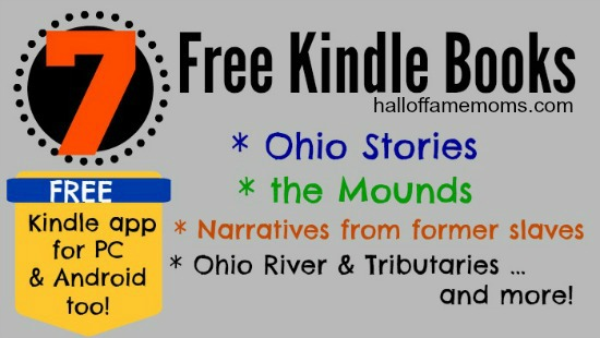 7 Free Kindle books: Ohio Stories, Slaves, Mounds, MORE