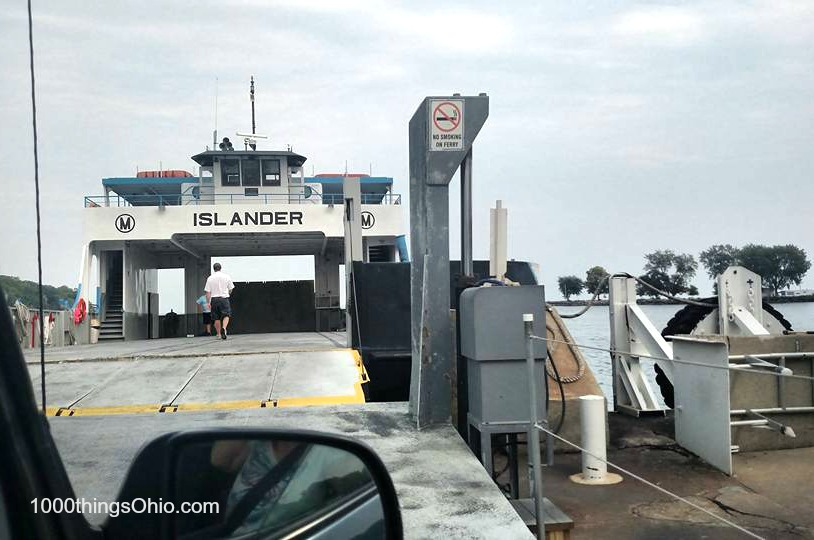 Boarding Miller Ferry on Lake Erie, Ohio