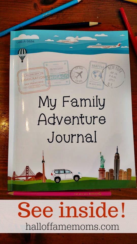 My Family Adventure  Journal review - a Kid's Travel Diary Keepsake