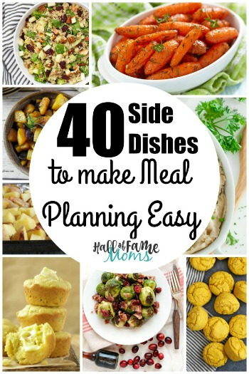 40 Thanksgiving Side Dishes for Menu Planning