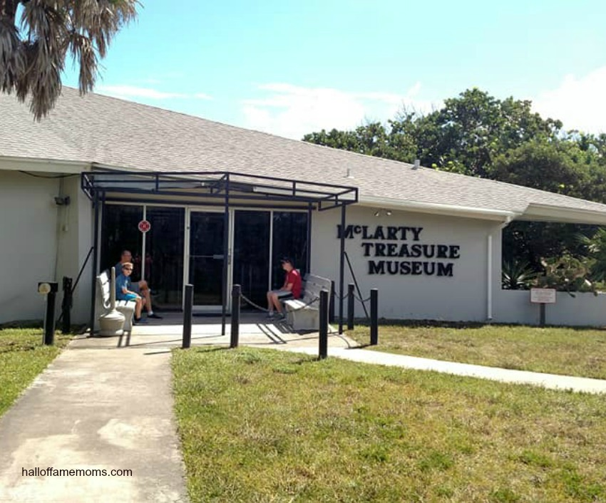 Visiting the McLarty Treasure Museum in Vero Beach, Florida