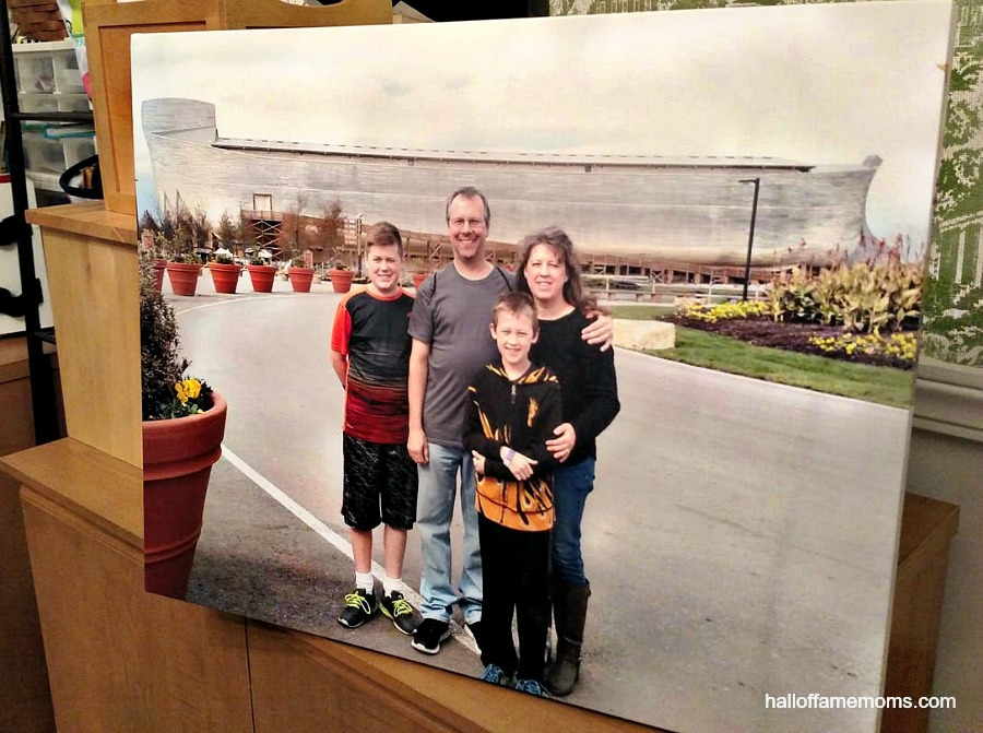 I love my newest Canvas Factory photo wallhanging. Read more (ad)...