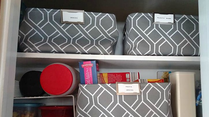 How I'm Organizing my Small Food Pantry