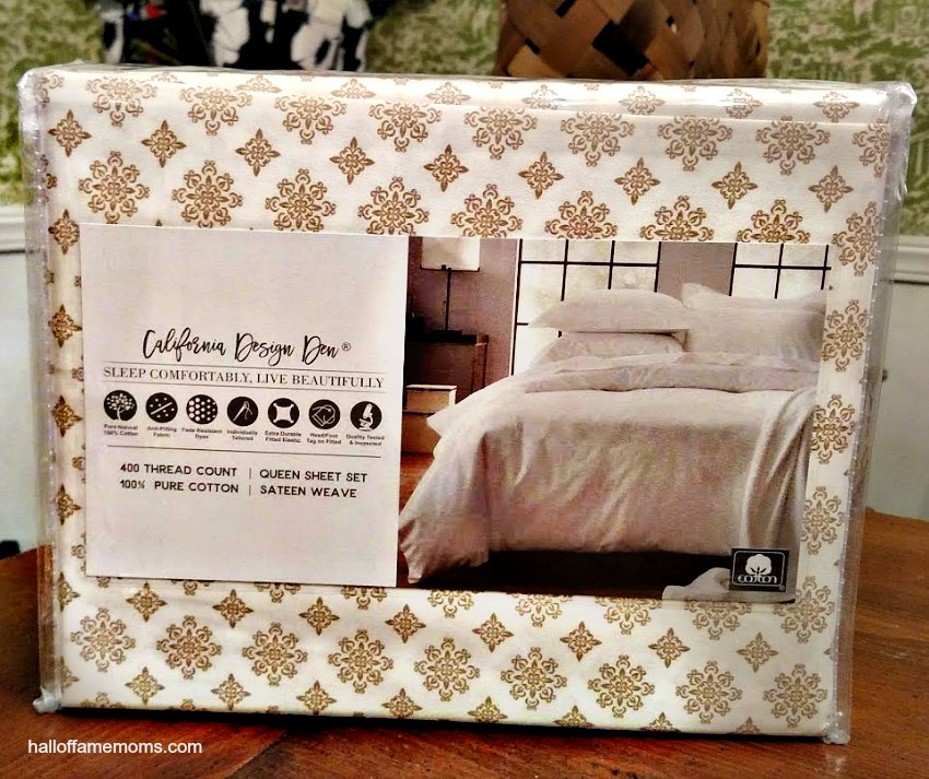California Design Den cotton sheets review